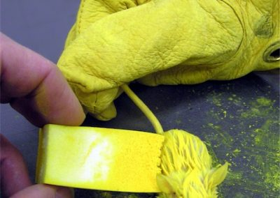 Painting Yellow Mouse